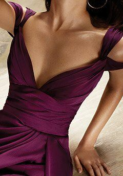 Hayley Paige Occasions 5177 V-Neck Bridesmaid Dress