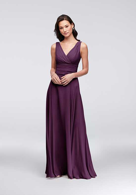 David's Bridal Collection David's Bridal Style F19831 V-Neck Bridesmaid Dress
