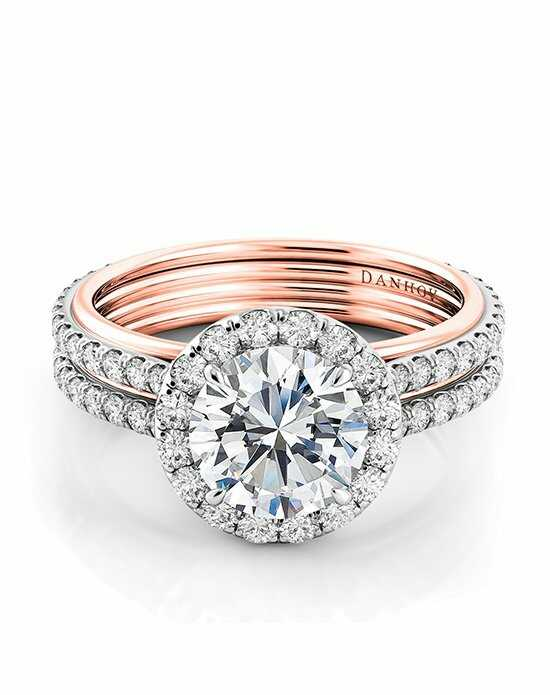 Danhov Unito Two-Tone Engagement Ring photo