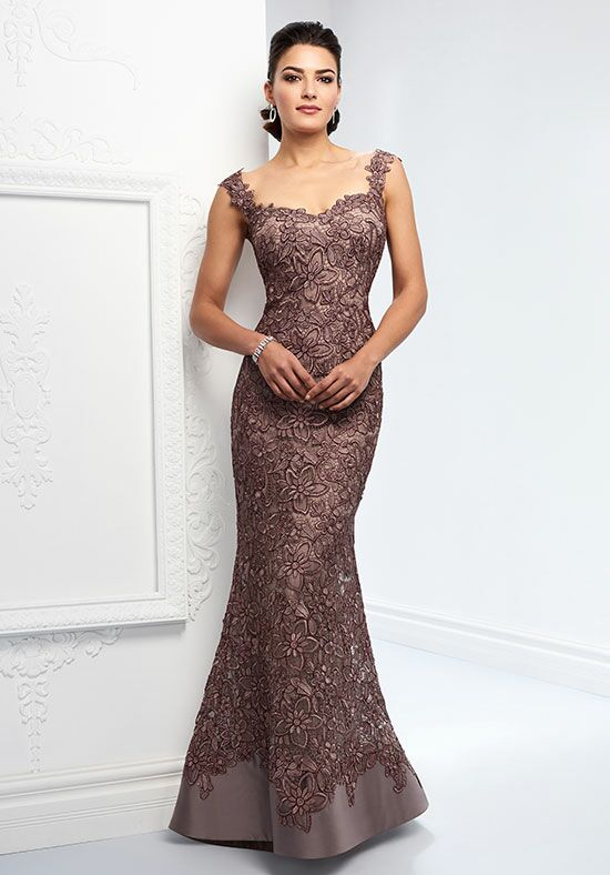 Ivonne D. 218D23 Brown Mother Of The Bride Dress