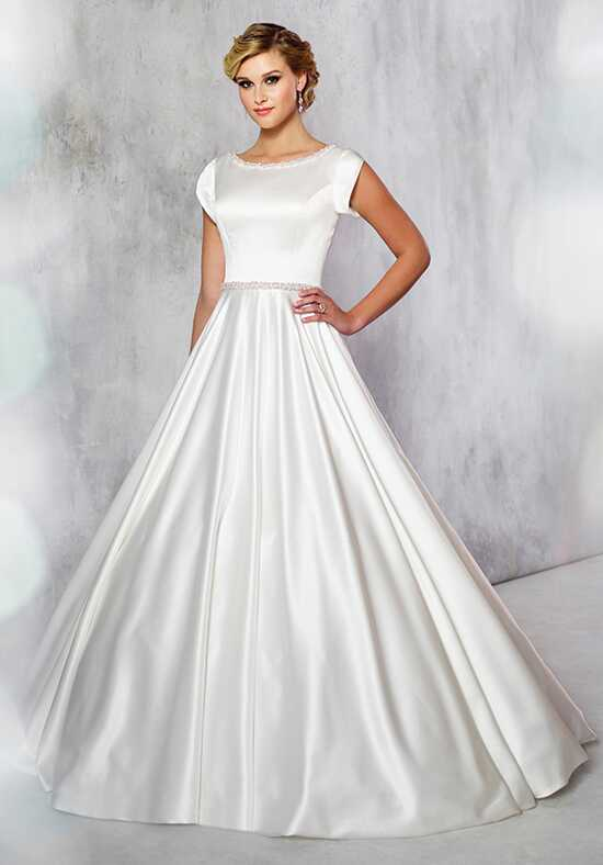 Modest by Mon Cheri TR21716 Ball Gown Wedding Dress