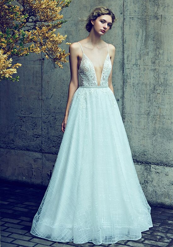 Calla Blanche LA8111(AS) Taylor Ball Gown Wedding Dress