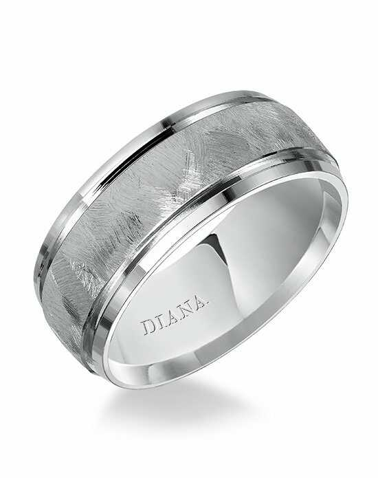 Diana 11-N7694W8-G Platinum, White Gold Wedding Ring