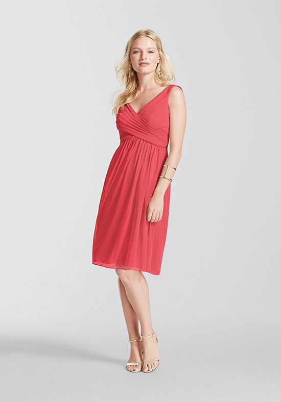 David's Bridal Collection David's Bridal Style F16007 V-Neck Bridesmaid Dress