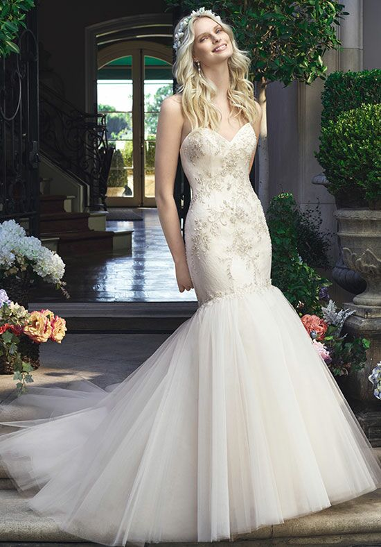 Casablanca Bridal 2219 Mermaid Wedding Dress
