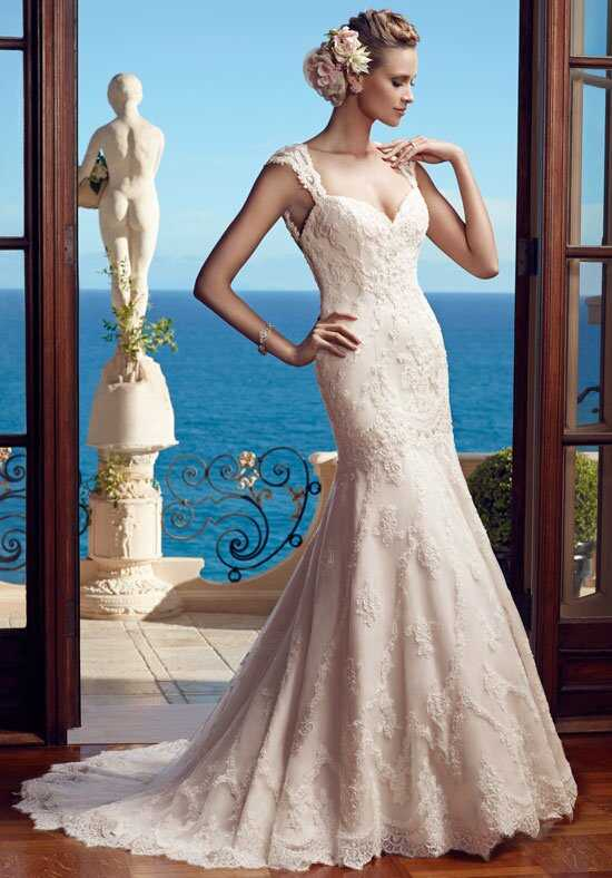 Casablanca Bridal 2195 Mermaid Wedding Dress
