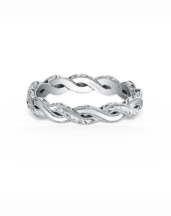 Kirk Kara Pirouetta Collection K1220-B White Gold Wedding Ring