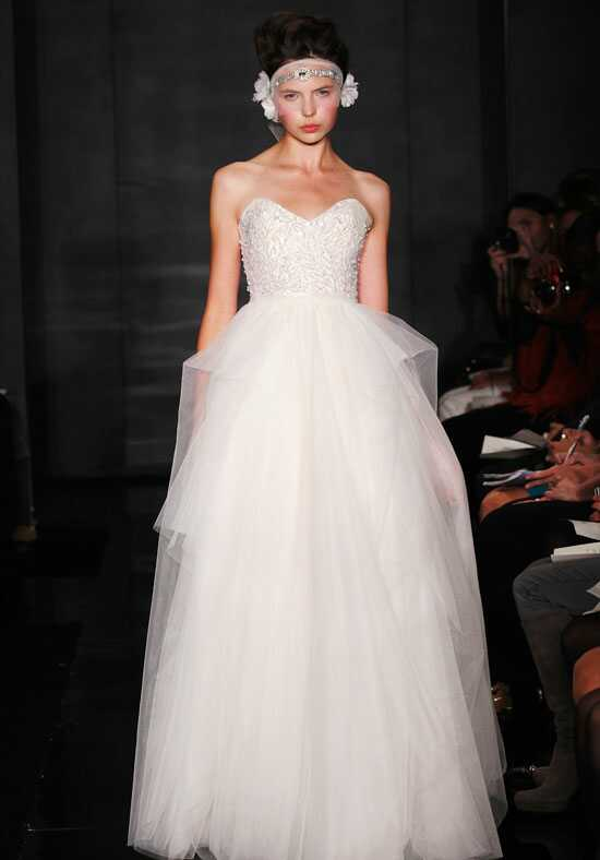 Reem Acra Eternity Ball Gown Wedding Dress