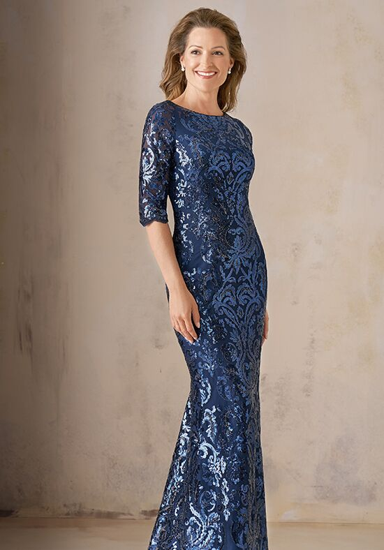 Jade Couture K208007U Blue Mother Of The Bride Dress