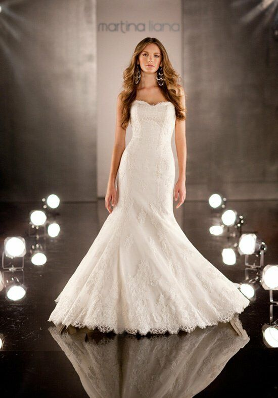Martina Liana 346 Mermaid Wedding Dress
