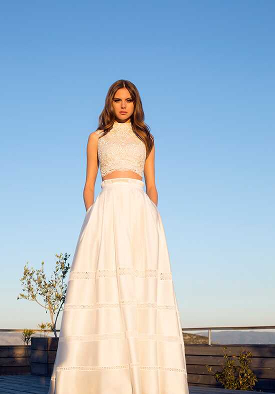 Metropolitan ME136 A-Line Wedding Dress