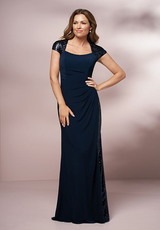 Jade J205009 Blue Mother Of The Bride Dress