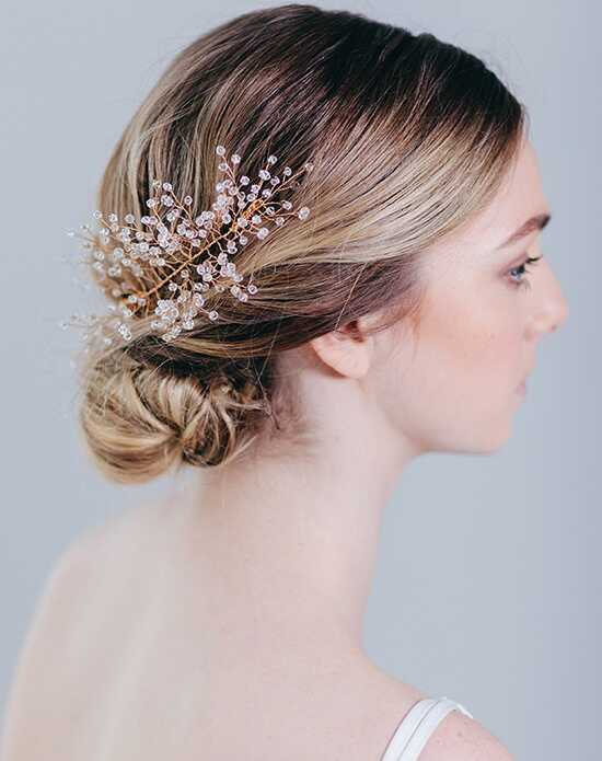 Davie & Chiyo | Hair Accessories & Veils Freya Headpiece Gold, Silver Pins, Combs + Clip
