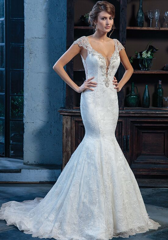 Amaré Couture by Crystal Richard C130 Estelle Mermaid Wedding Dress