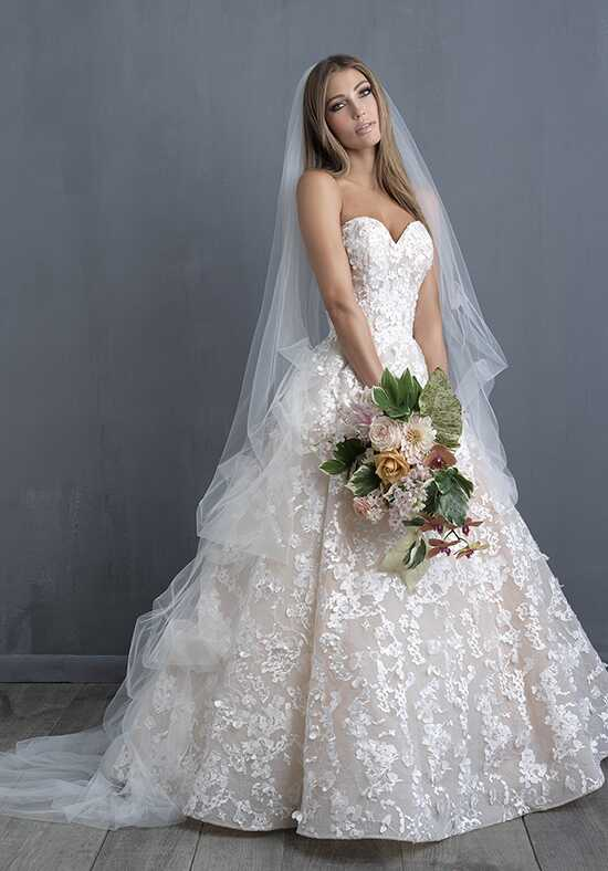 Allure Couture C486 Ball Gown Wedding Dress