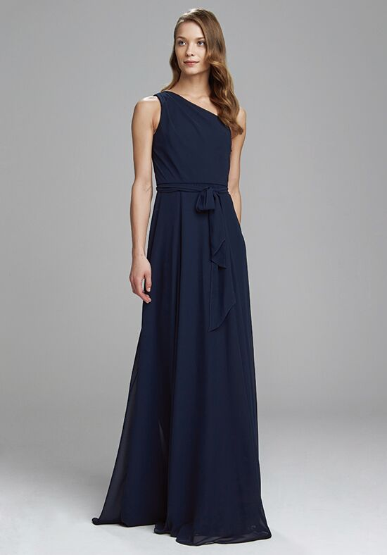 Amsale Bridesmaids Laurie One Shoulder Bridesmaid Dress