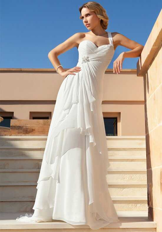 Demetrios DR191 A-Line Wedding Dress