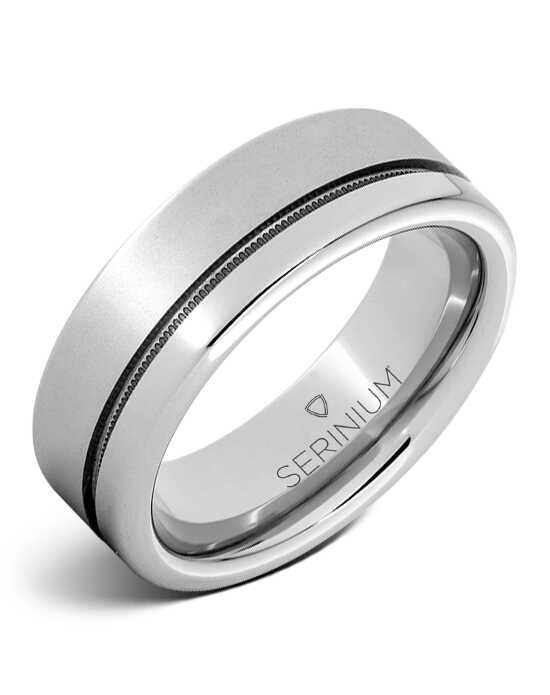 Serinium® Collection Xerxes the Great -- Serinium® Laser Ring-RMSA002925 Serinium® Wedding Ring