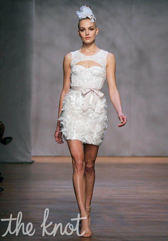 Monique Lhuillier Pixie Wedding Dress