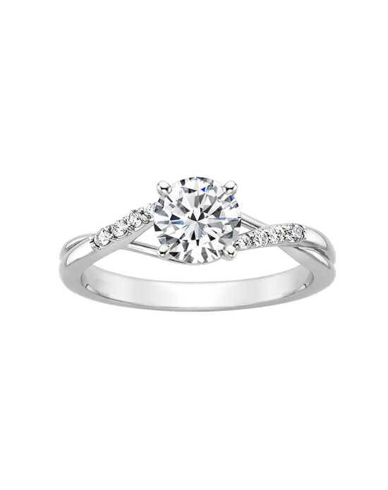 "Say ""Yes!"" in Platinum Round Cut Engagement Ring"