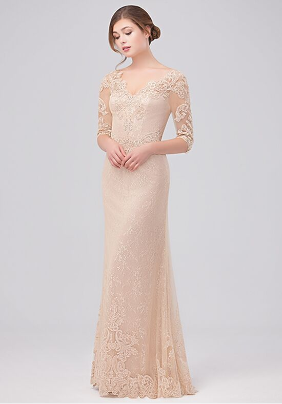 Val Stefani Celebrations MB7627 Champagne Mother Of The Bride Dress