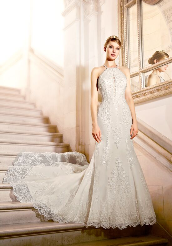 Moonlight Couture H1317 Mermaid Wedding Dress