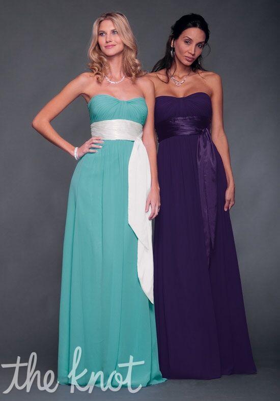 Bill Levkoff 521 Strapless Bridesmaid Dress