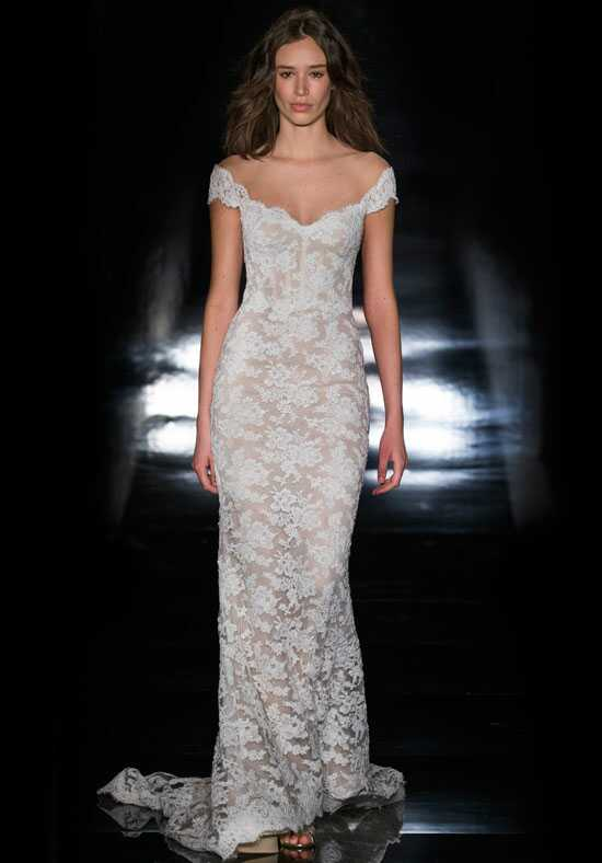 Reem Acra Francesca Sheath Wedding Dress