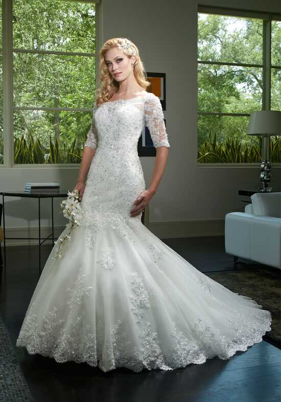 1 Wedding by Mary's Bridal 6408 Wedding Dress photo