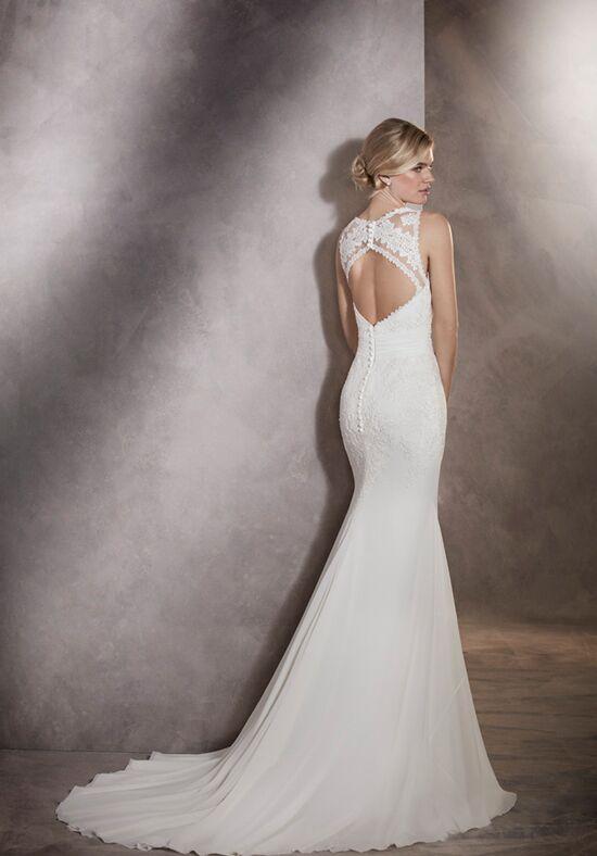Pronovias arlet wedding dress the knot for Pronovias wedding dresses price range