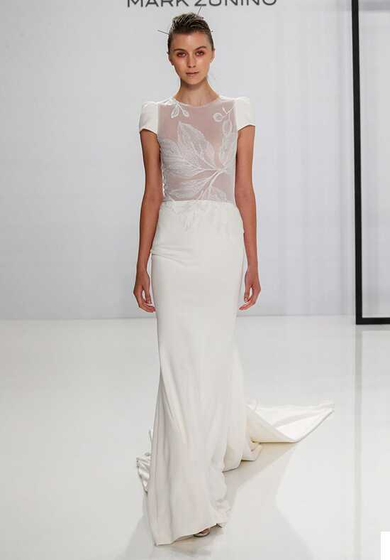 Mark Zunino for Kleinfeld 199 Sheath Wedding Dress