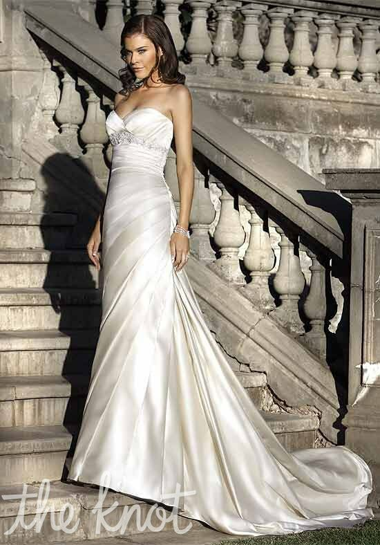 Essense of Australia 964 Mermaid Wedding Dress