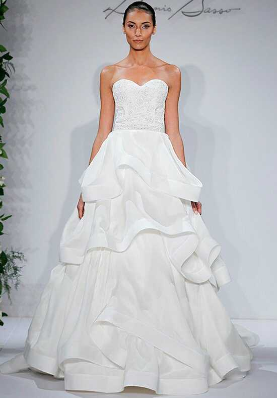 Dennis Basso for Kleinfeld Duchess Ball Gown Wedding Dress