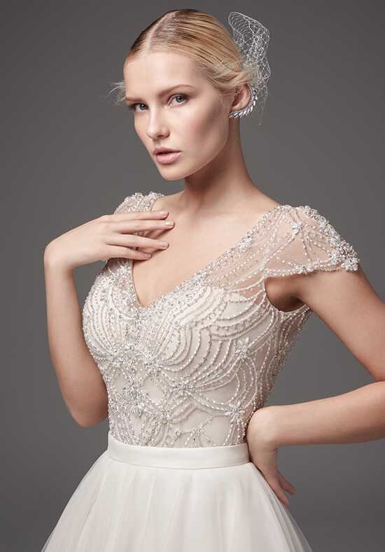Sottero and Midgley Sinatra bodysuit with Kallin skirt Ball Gown Wedding Dress