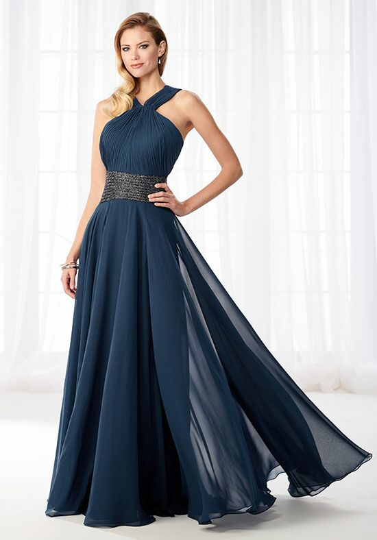 Cameron Blake 218615 Blue Mother Of The Bride Dress