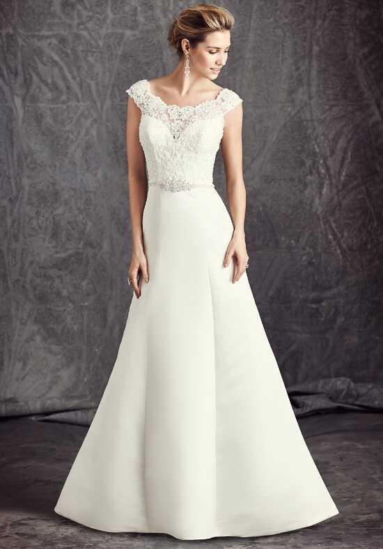 Kenneth Winston: Ella Rosa Collection BE296 A-Line Wedding Dress