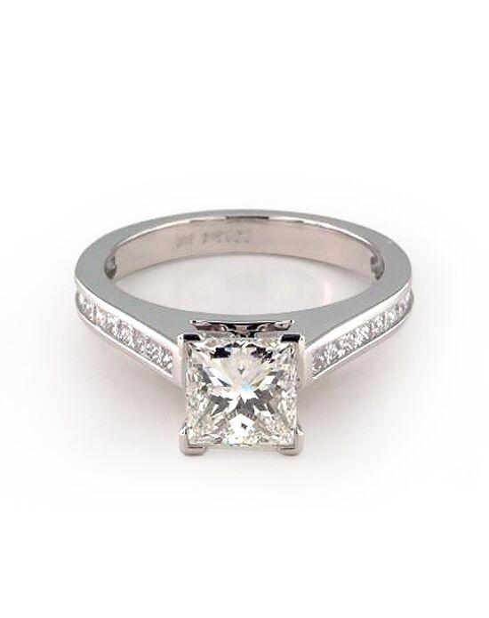 James Allen Classic Princess, Asscher, Cushion, Emerald, Radiant, Round, Oval Cut Engagement Ring