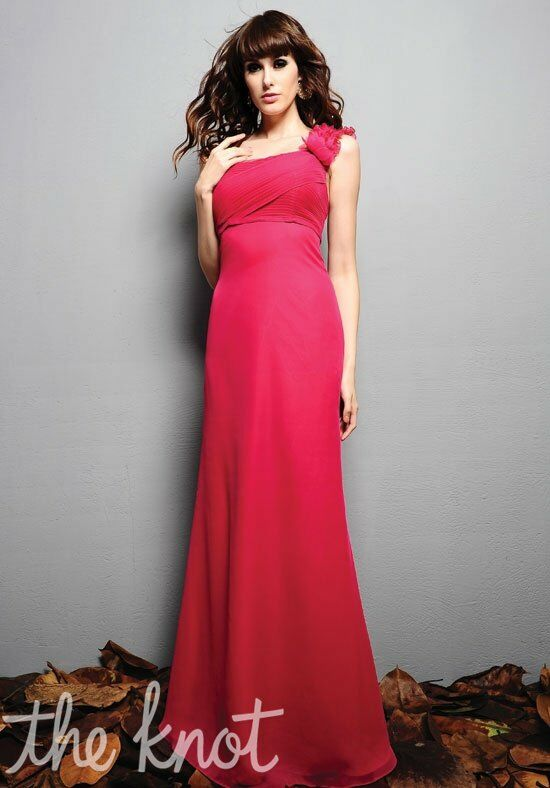 Eden Bridesmaids 7341 One-Shoulder Bridesmaid Dress