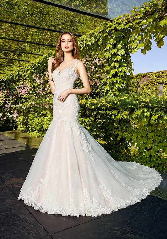 Moonlight Couture H1326 Mermaid Wedding Dress