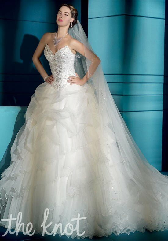 Demetrios 2831 Ball Gown Wedding Dress
