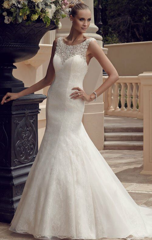 Casablanca Bridal 2185 Mermaid Wedding Dress