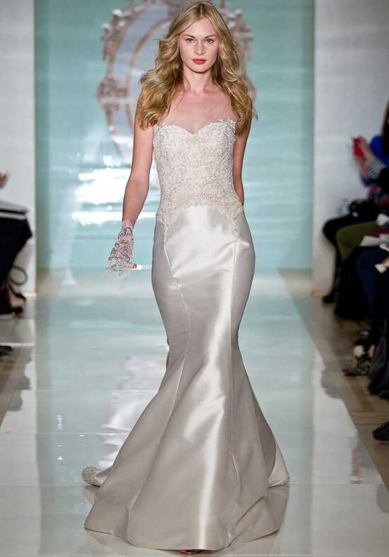 Reem Acra Rich Girl Mermaid Wedding Dress