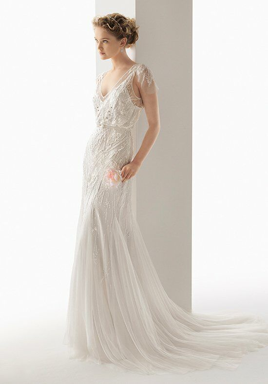 Soft by Rosa Clará 201/UBEDA Sheath Wedding Dress