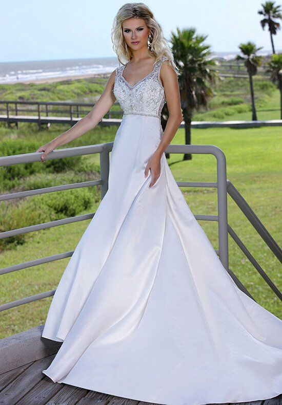 DaVinci Bridal 50233 Mermaid Wedding Dress