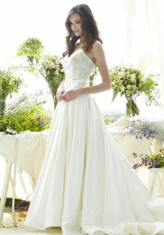 Saison Blanche Couture 4267 Ball Gown Wedding Dress