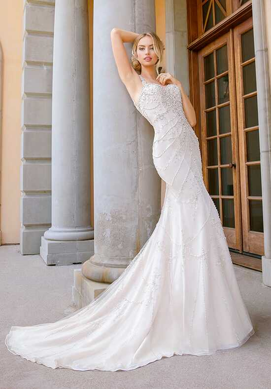 Moonlight Couture H1345 Mermaid Wedding Dress
