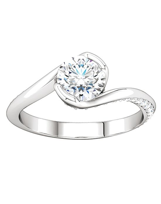 ever&ever Elegant Cushion, Round, Oval Cut Engagement Ring