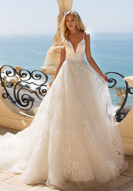 Moonlight Couture H1372 Ball Gown Wedding Dress