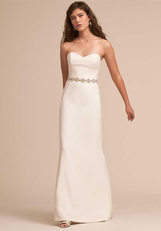 BHLDN Paige Gown Sheath Wedding Dress