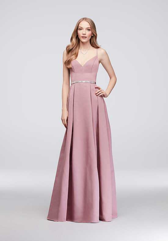 Oleg Cassini Exclusively at David's Bridal Bridesmaid Dresses Oleg Cassini Style OC290020 V-Neck Bridesmaid Dress
